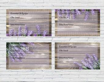 Printable Essential Oil Recipe Cards | Lavender Business Recipe Card, YL Essential Oil Recipe Card, Best Selling Recipe Card, Essential Oils