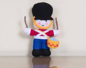 Knitted Drummer Boy