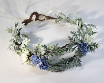 Through the Mist Flower Crown