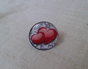 """""""two hearts intertwined"""" ring"""