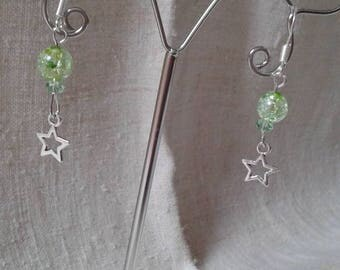 """little star"" earrings"