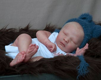 "Custom Made Joseph Asleep Reborn Baby ""Realborn"""