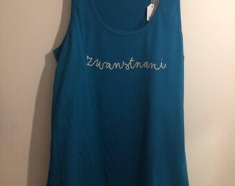 woman XL Apple blue Zakaria