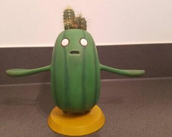 Cactoid cactus planter