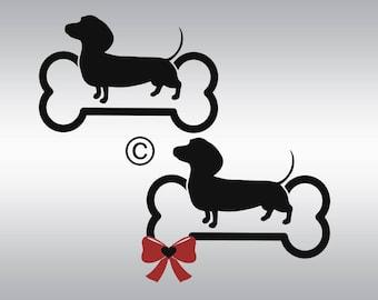 Dachshund svg, Dog svg, dog silhouette, Dog clipart, Dachshund silhouette, Dachshund clipart, Cricut, Cameo, Clipart, Svg, DXF, Png, Pdf Eps