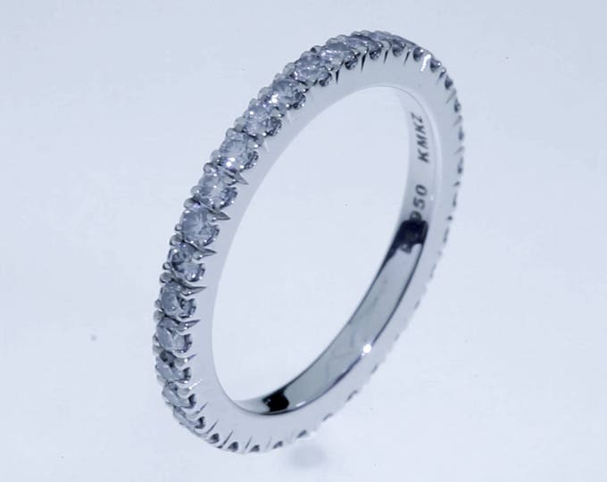 Anillo de Diamantes Eternity - Platino 950