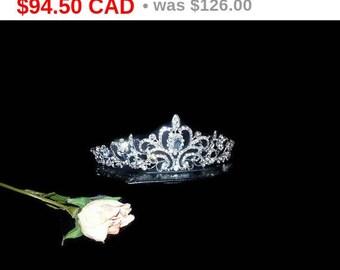 Bridal Tiara Crystal Heart Tiara - Royal Tiara, Swarovski Bridal Tiara, Crystal Wedding Crown, Rhinestone Tiara, Wedding Tiara, Crown