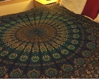 Mandala bedding,Mandala tapestry,Bohemian bedding,Bohemian tapestry,boho wall tapestry,wall tapestry,Queen mandala,mandala bedspread