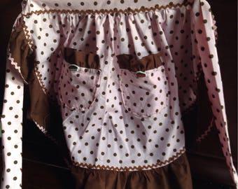 Vintage diner style waist  apron