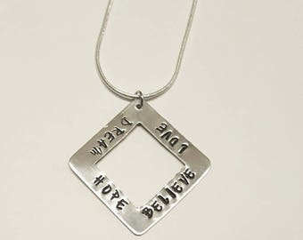 Dream Love Hope Believe - Necklace