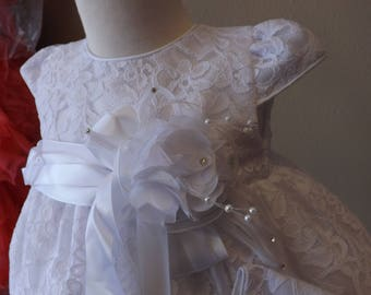Baptism Gown, christening, christening robe gown