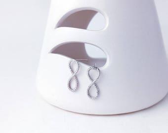 Unlimited 8 925 silver stud earrings (SE010)