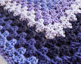 Layering Blanket - Receiving Blanket - Newborn - Newborn Photo Prop - Photo Prop - Afghan - Granny Square