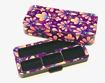 JUUL Vape travel case Floral 10 design