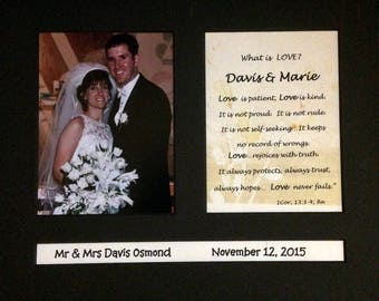 Personalized Wedding Announcements