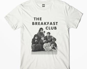 Breakfast Club Gang White Vintage Look T-Shirt - S M L XL