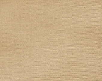 Coupon beige cotton canvas 41 x 41 cm ideal for making cushions