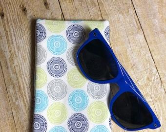 Fabric glasses case, glasses holder
