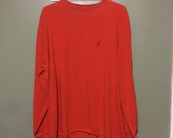 Nautica longsleeve shirt size xl