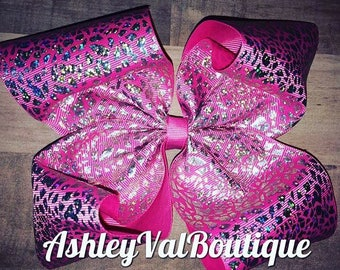sparkly pink Hairbow