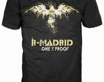 New ultramodern 3D  High Quality  Print Fans  short Sleeve t-shirt Real Madrid