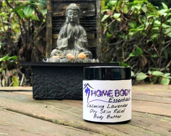 Calming Lavender Dry Skin Relief Body Butter