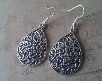 Drop earrings No.. 2 ~ silver ~