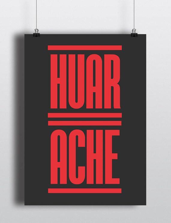 HUARACHE | Wall Art | Poster