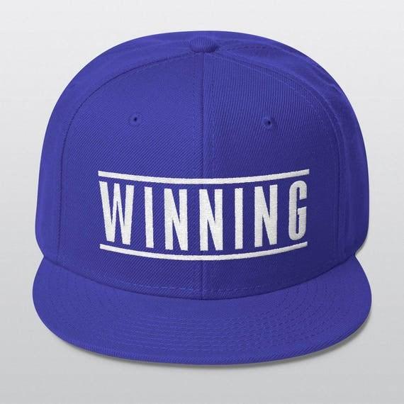 WINNING | Wool Blend Snapback Cap | 6 Colors