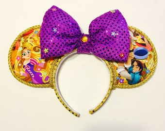 Tangled : Rapunzel and Flynn ears