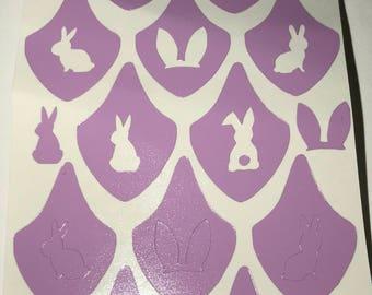 Bunny Love Nail Vinyls