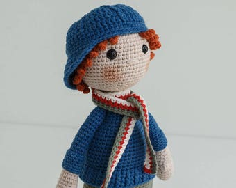 DYLAN Crochet Doll - Amigurumi doll - Stuffed doll - Handmade doll - Interior doll - Crochet toy - Handmade toy - Baby Gift
