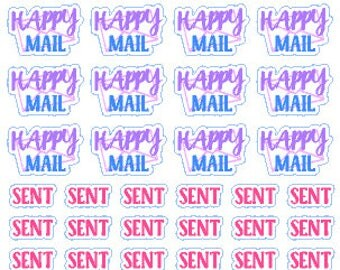 Happy Mail // Diary // Planner // Stickers