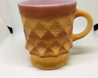 Vintage Anchor Hocking FireKing Coffee Cup