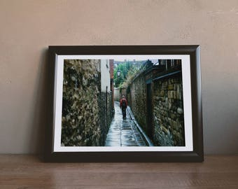 Lonely Lane - Downloadable Photography Print Wall Art