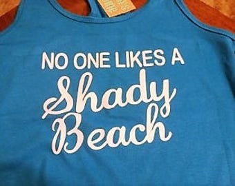Shadey Beach Tank