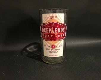 1 Liter Vs 750ML Deep Eddy Real Grapefruit Vodka Candle BOTTLE Soy Candle  Made To Order !!!!!