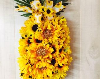 Sunflower door hanger