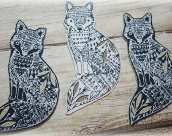 Fancy fox brooch, fox woman's brooch, fox accessories, ladies brooch, fox jewellery, fox birthday, fox Christmas present, fox gift
