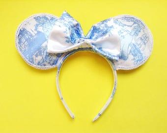 Disney Princess Mickey Ears | Aurora | Snow White | Cinderella | Belle | Mouse Ears | Ears | Minnie Ears