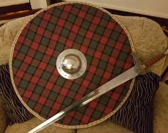 Tartan Viking Shield
