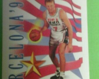 Larry Bird USA Basketball Card