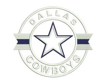 Dallas Applique Embroidery Design - 5 SIZES