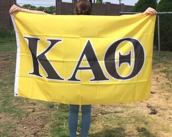 Kappa Alpha Theta: Sorority Flag
