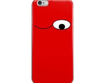 Winking Funny Emoji iPhone Case - Iphone 7 case - Iphone 8 case - Iphone 7 plus case - Iphone 6 case - Iphone X case