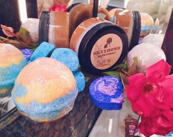 SIX MONTH SUBSCRIPTION | Monthly Subscription | Lip Balm | All Natural | Milk and Honey Melts | All Natural Bath Bombs | Gifts For Her