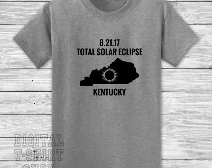 8.21.17 Total Solar Eclipse Kentucky T-shirt