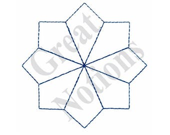 Quilt Design - Machine Embroidery Design