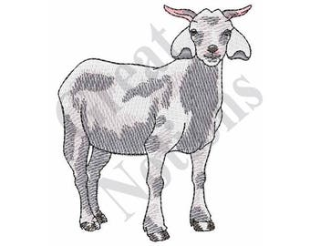 Goat - Machine Embroidery Design