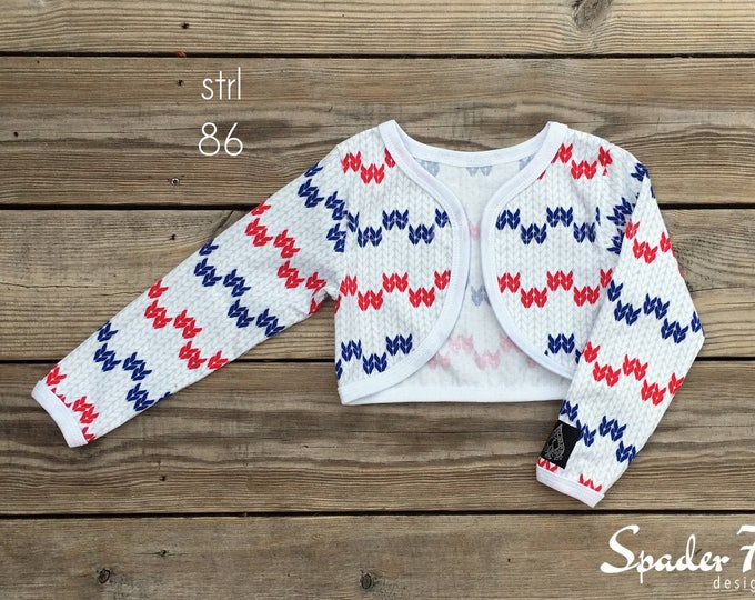 Summer cardigans size 56-170 PDF-pattern
